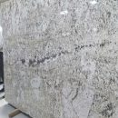 Alaska white granite gangsaw Slab 2