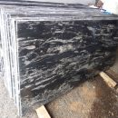 black marquina granite cutter slab