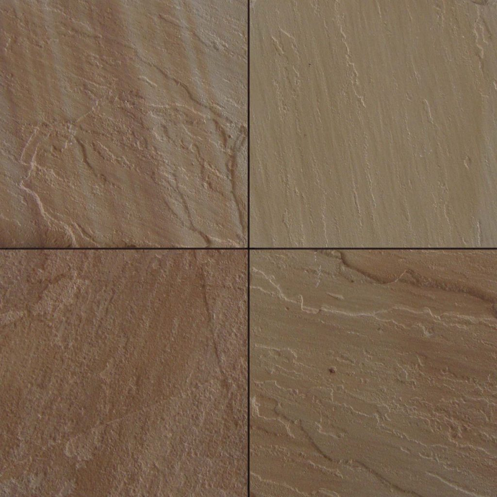 Polished camel dust sandstone tiles