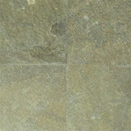 green quartzite tiles