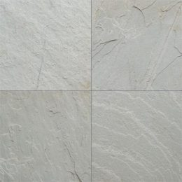 H-White quartzite tiles