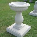 Bird baths garden ornaments