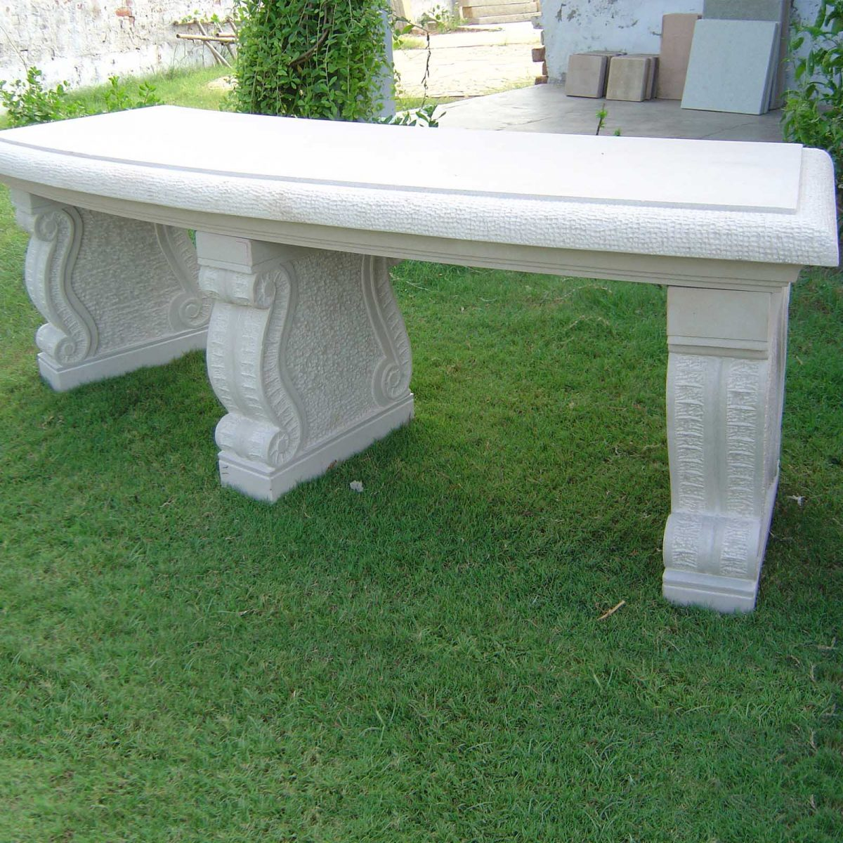 Stone Garden Bench Outdoor Articles For Sale From Indian