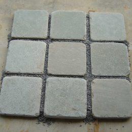 Tumbled grey 20x20cm