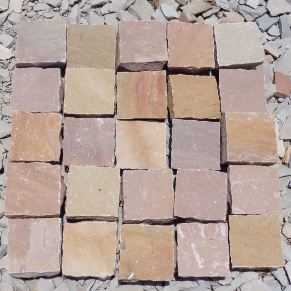 Yellow Brown Cobbles