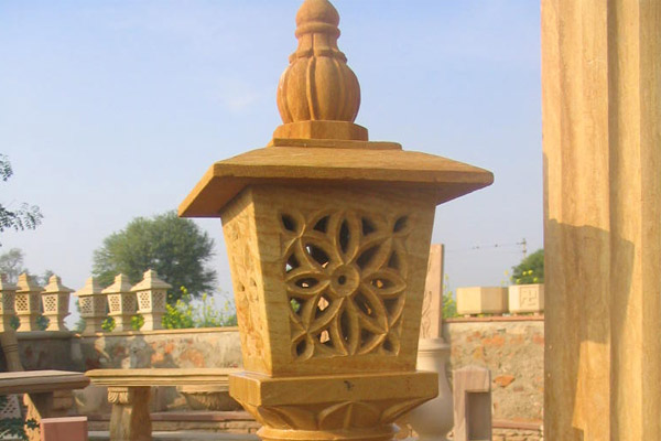 sandstone-lamp
