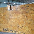 Alaska gold granite slab supplier