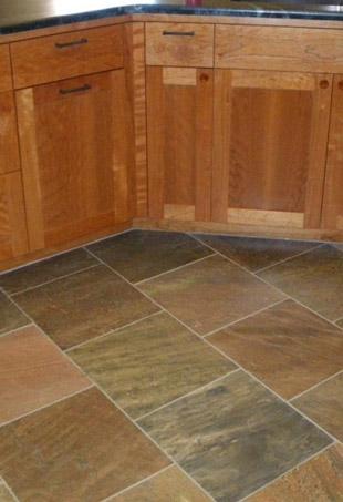 indoor slate flooring