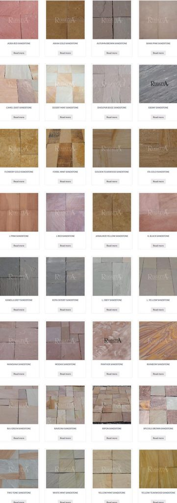 Sandstone Colors