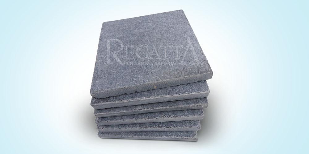 Limeblack limestone tiles