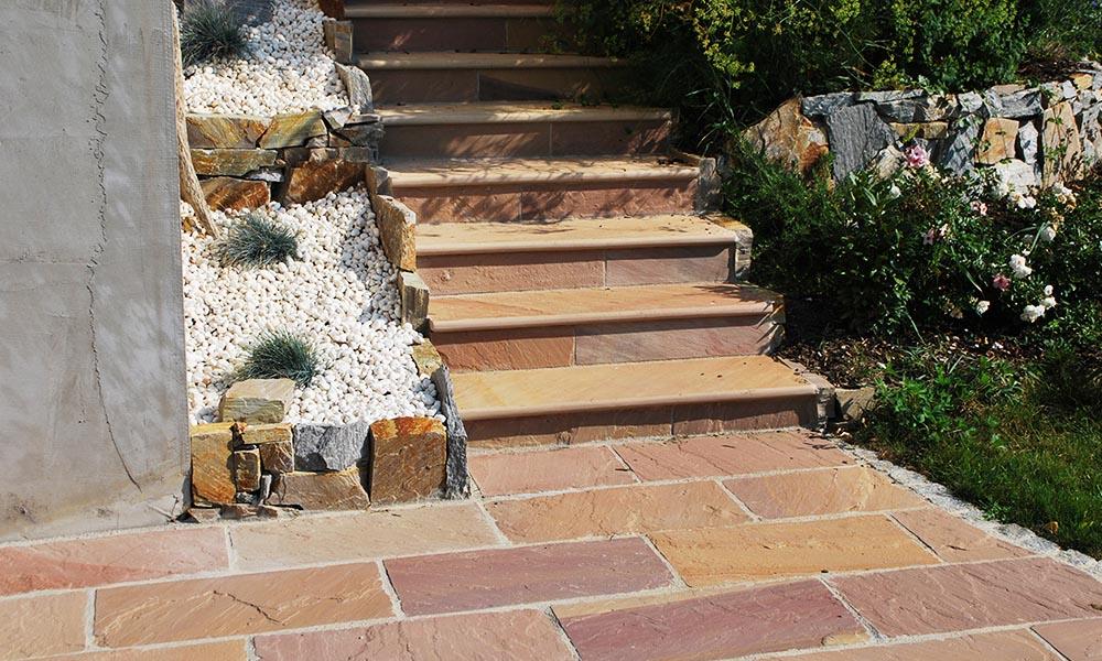 Modak sandstone installation