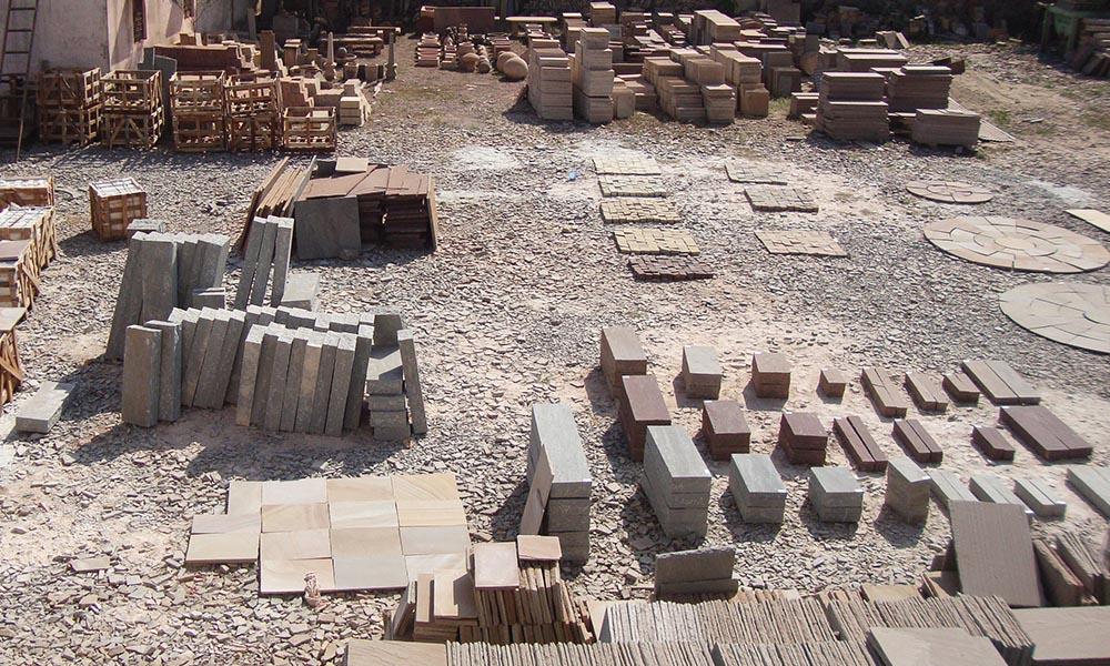 Sandstone factory
