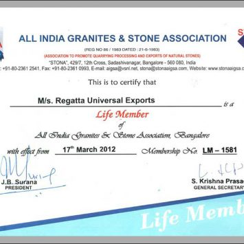 AIGS Certificate