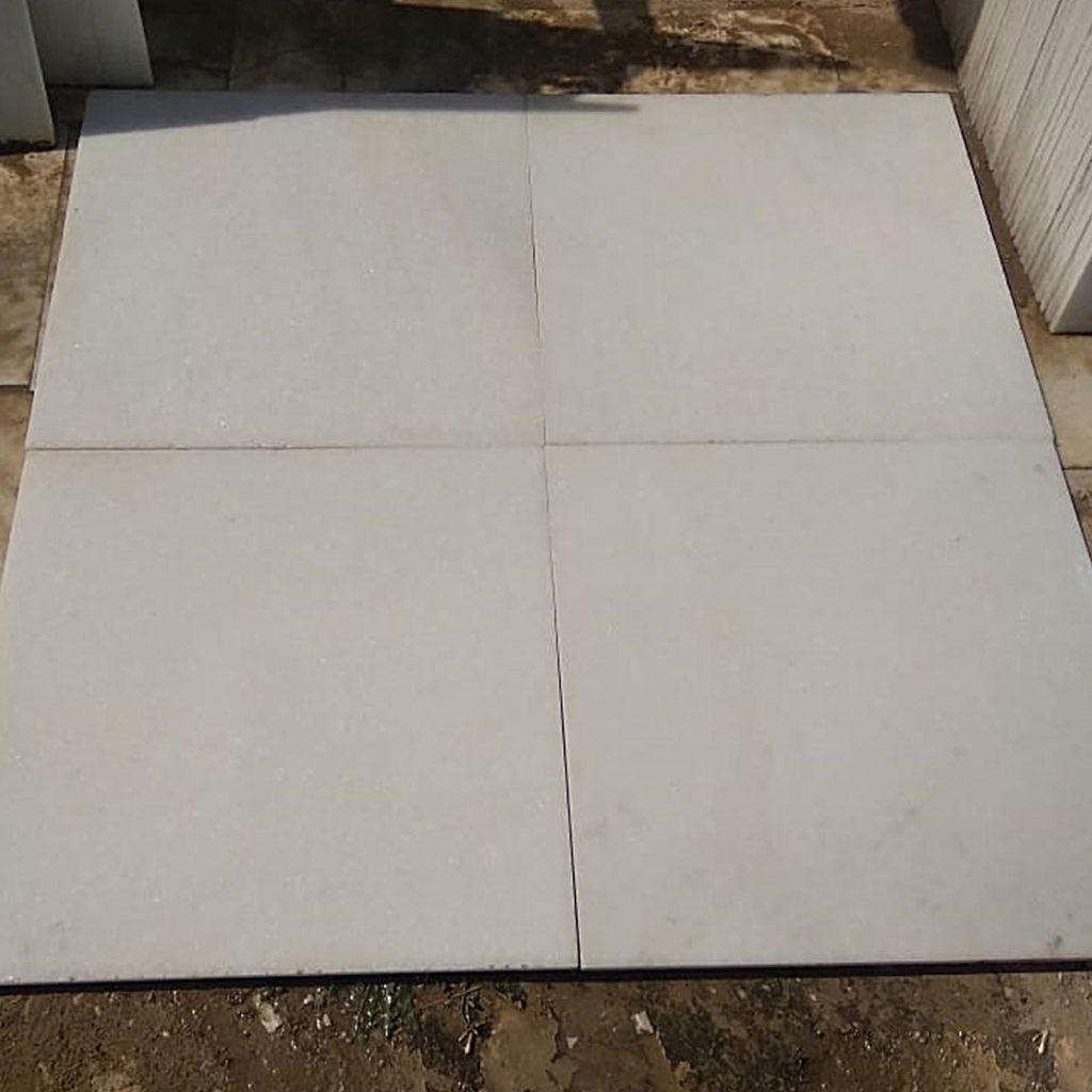 Makarana white marble tiles