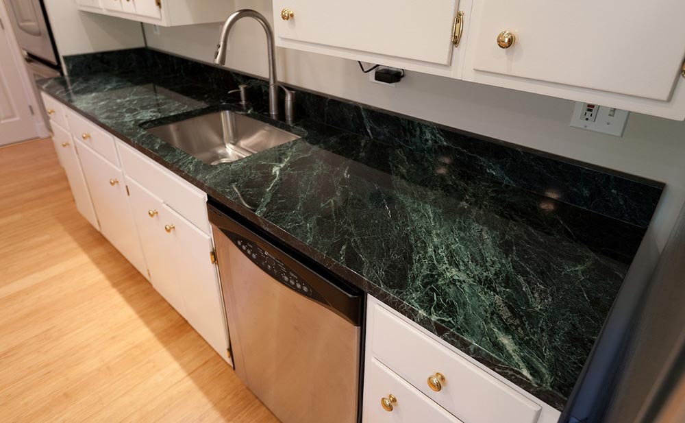 Green Marble Countertop
