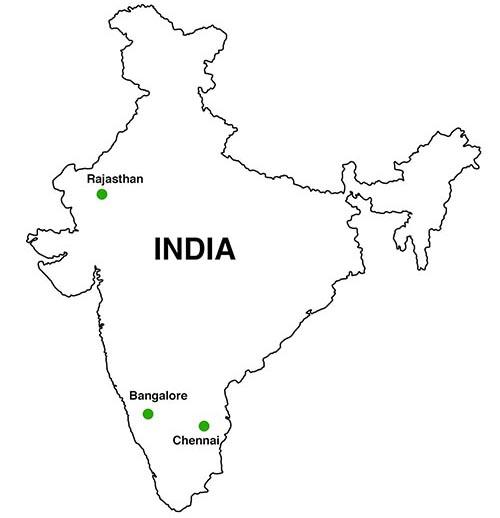 India Map Stone Hub