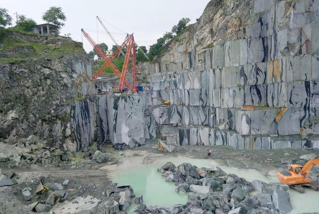 green marble quarries