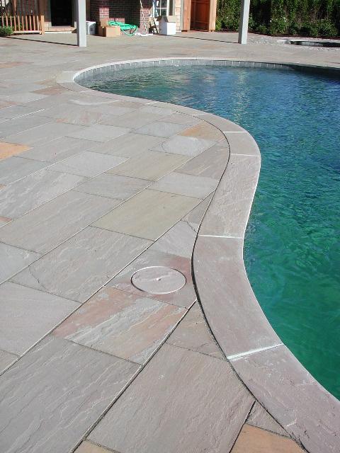 Autumn Brown pool surround