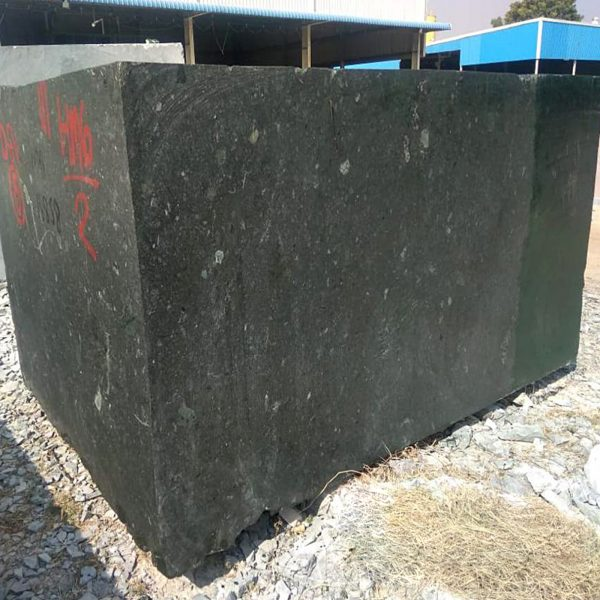 Green Marble-Block