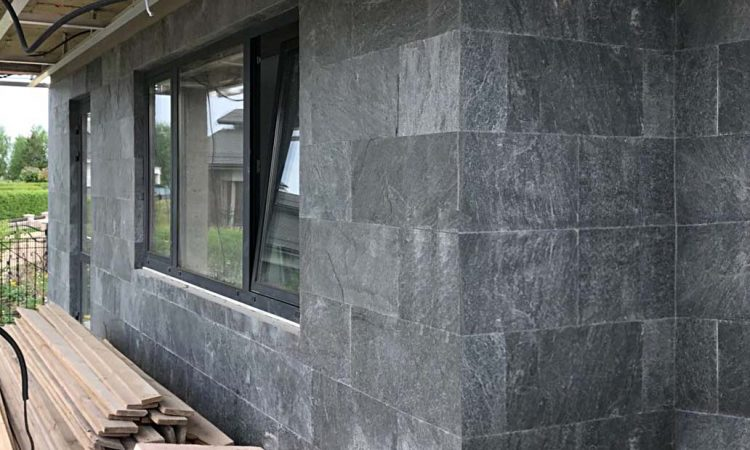 Silver Grey Quartzite Wall Tiles