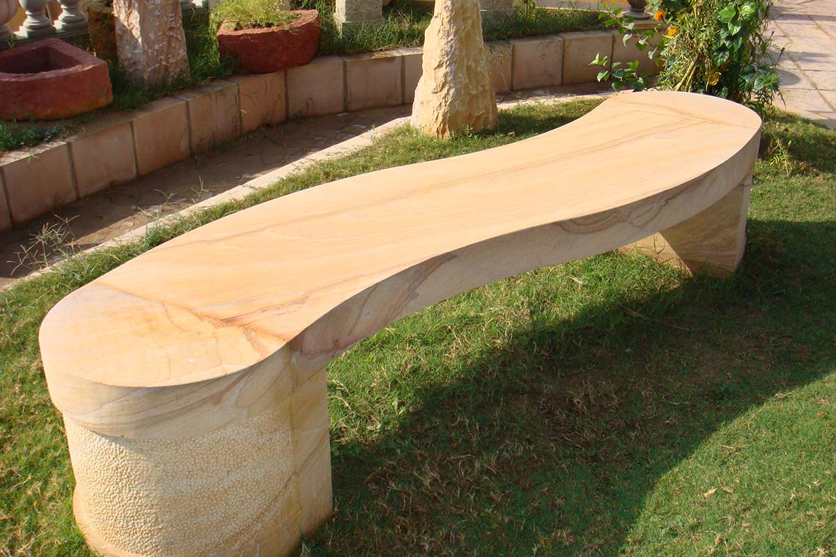 Stone Garden Bench For Making The Most Out Of Your Green Area