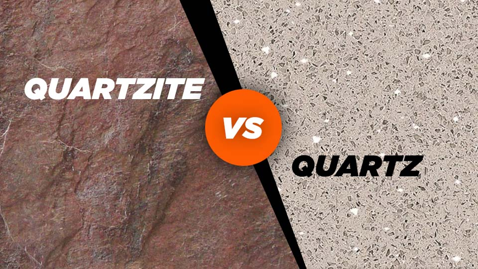 quartzite vs quartz