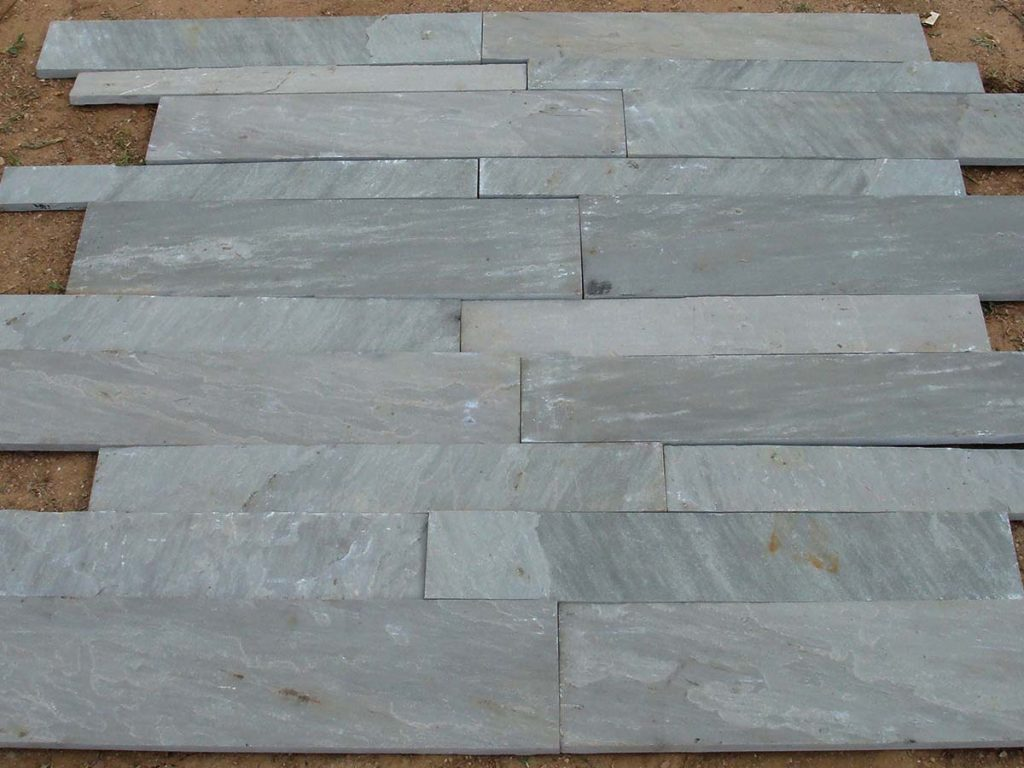 Kandla grey sandstone wall cladding