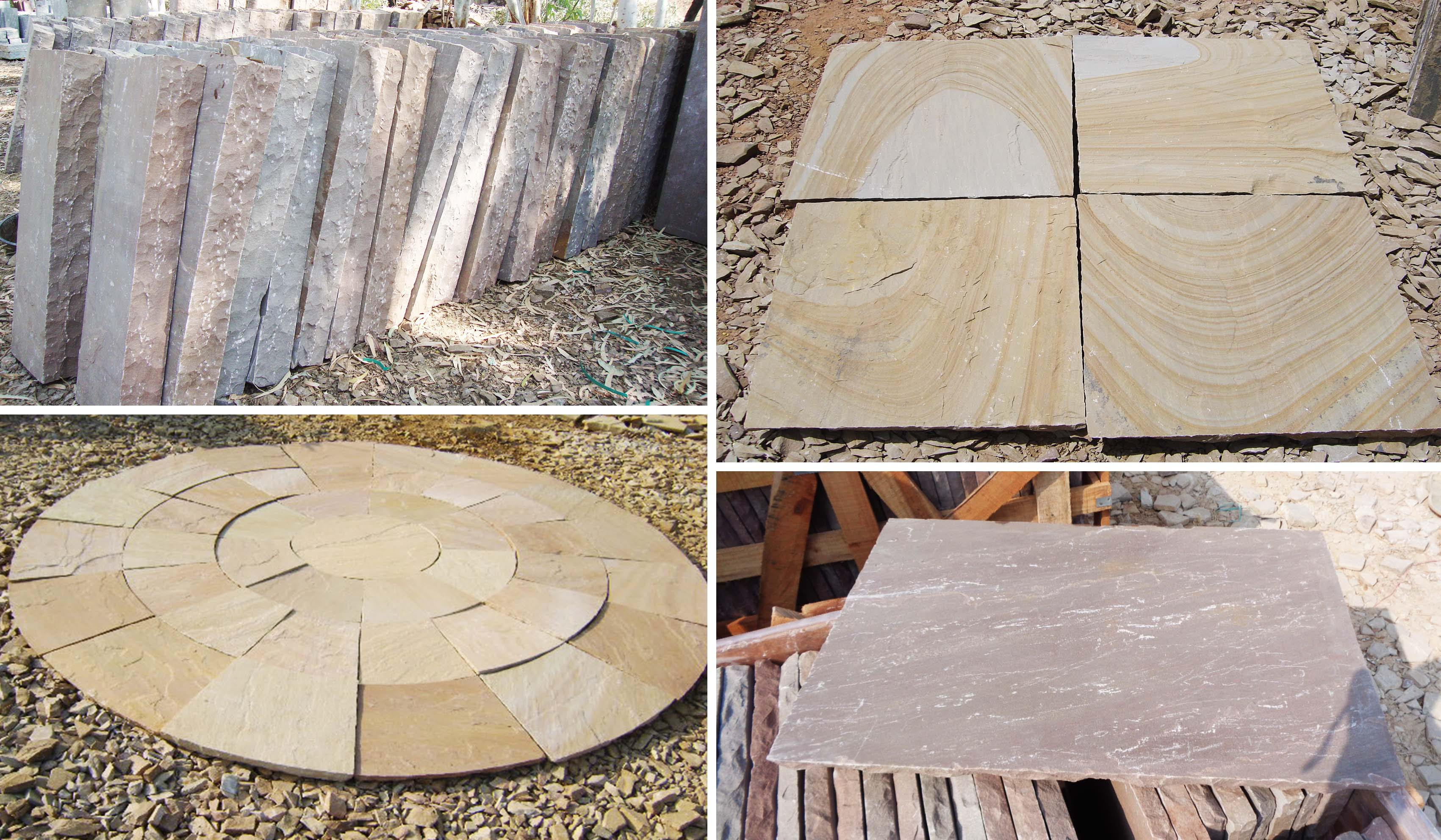 Natural Sandstone products