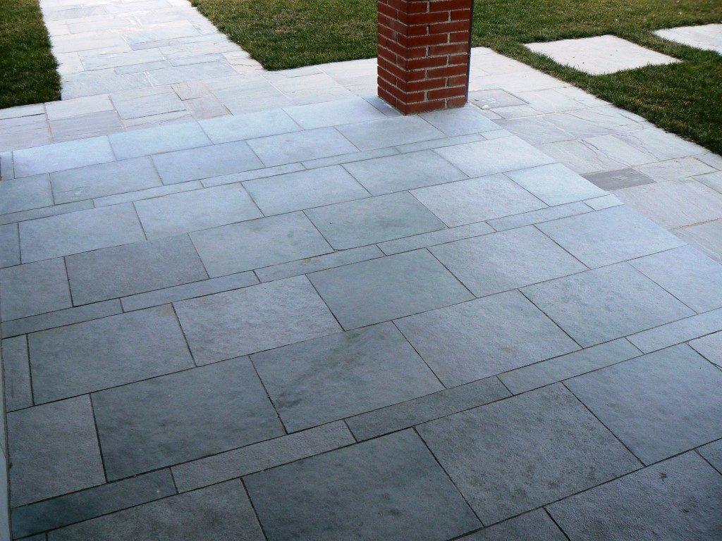 Kota blue limestone flooring