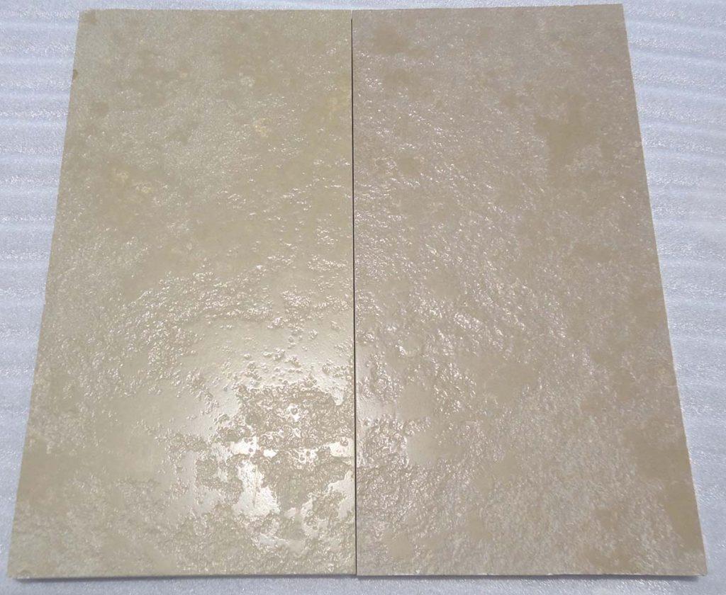 Tandur Yellow Limestone semi honed and brushed