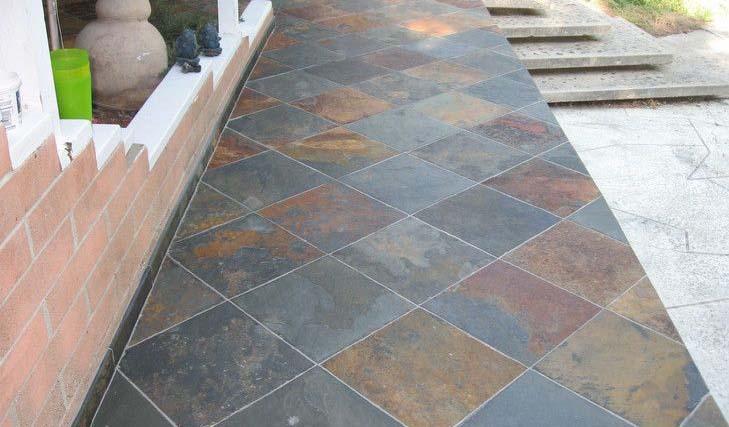 outdoor slate tiles