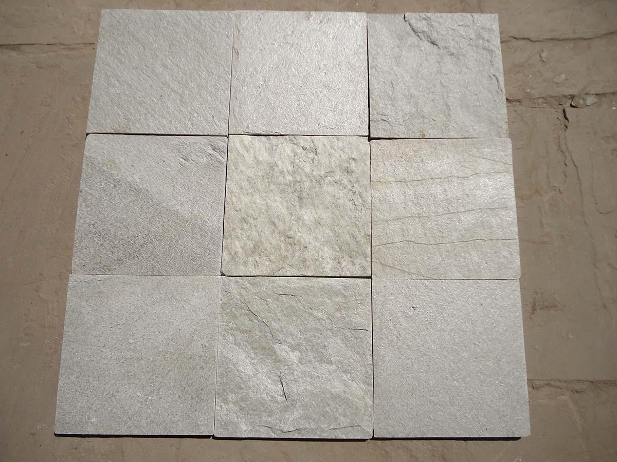 S White Quartzite Tile