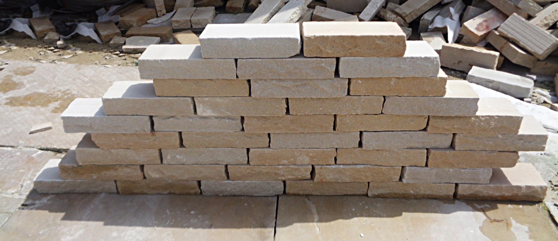 Wall Bricks Mint Sandstone