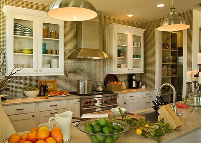 horseshoe style kitchen