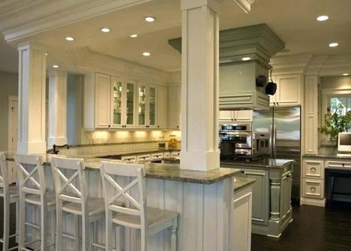 kitchen layout peninsula structure