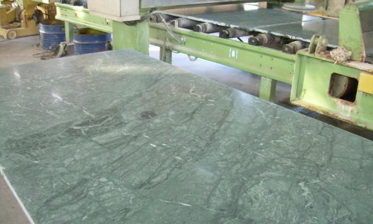 Green Marble Honed Slab