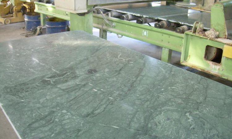 Green Marble Honed Slab