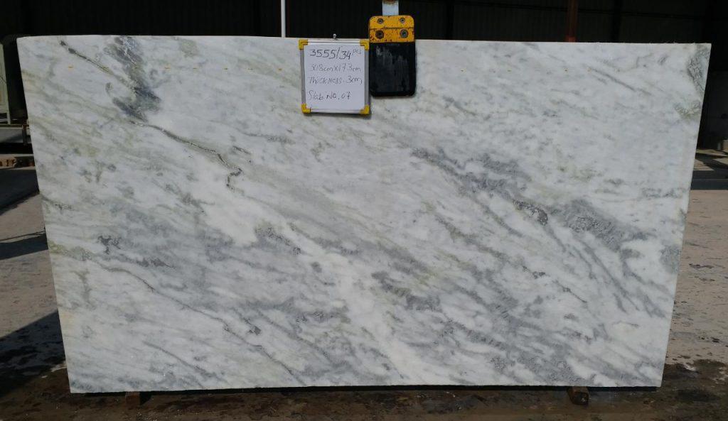 Rajnagar white marble Slab
