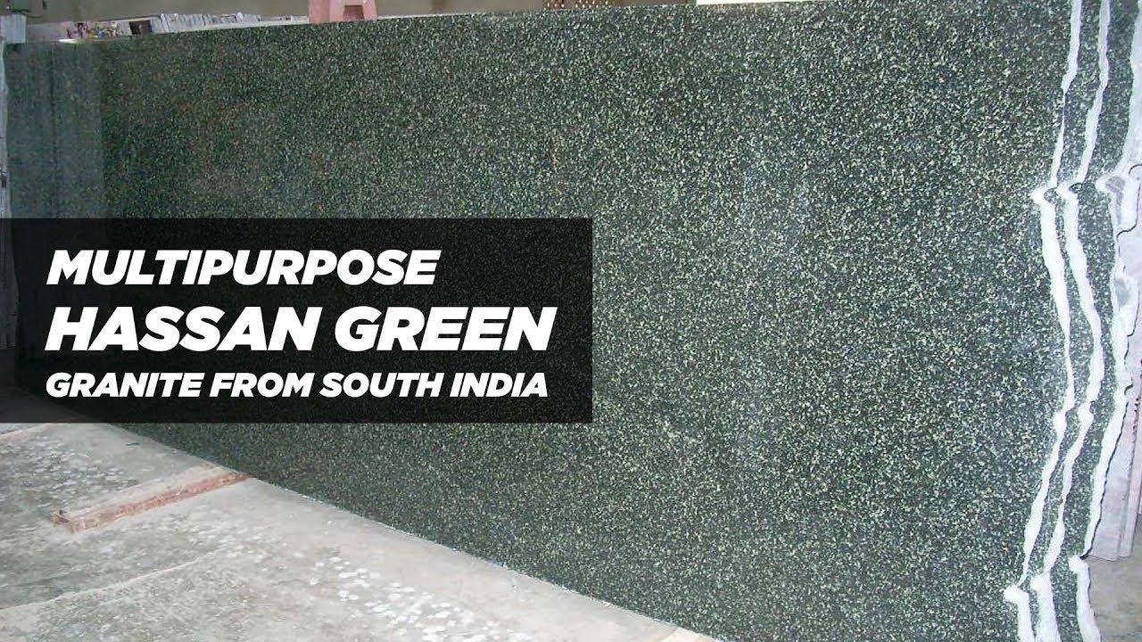 Multipurpose Hassan green granite