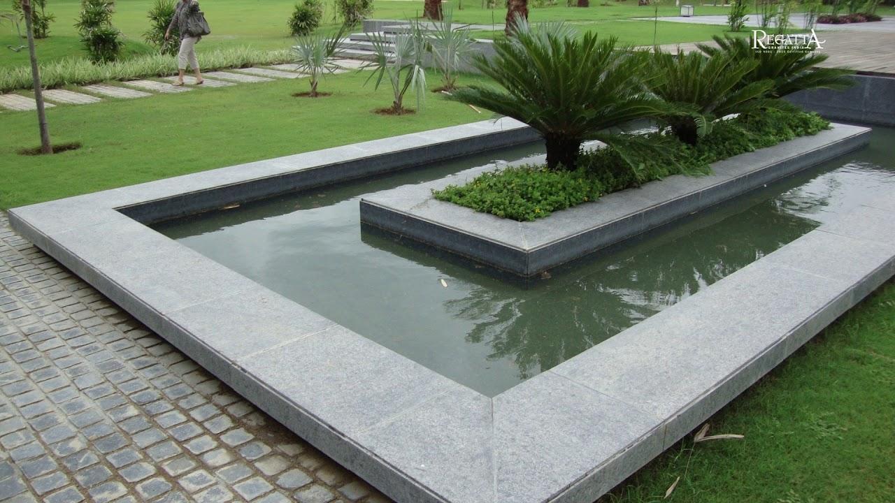 Steel Grey Granite Flooring Project